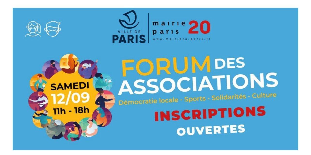 Forum des associations – Paris 20ème