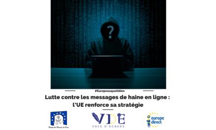 Lutte contre les messages de haine en ligne : l'UE renforce sa stratégie