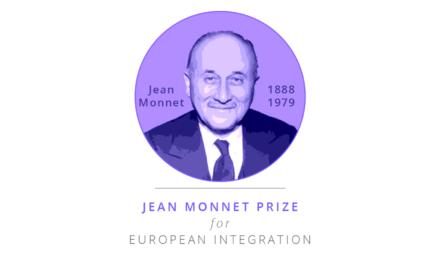 Prix Jean Monnet pour l'intégration européenne : Édition 2020 – candidature
