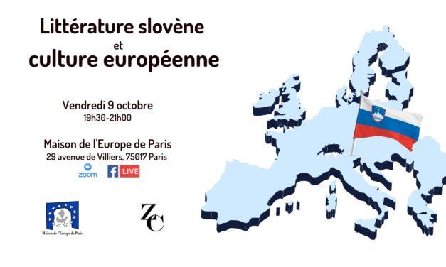 Littérature slovène et culture européenne