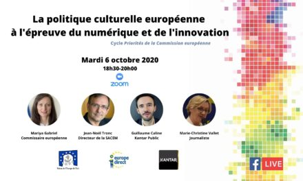 La politique culturelle européenne à l'épreuve du numérique et de l'innovation