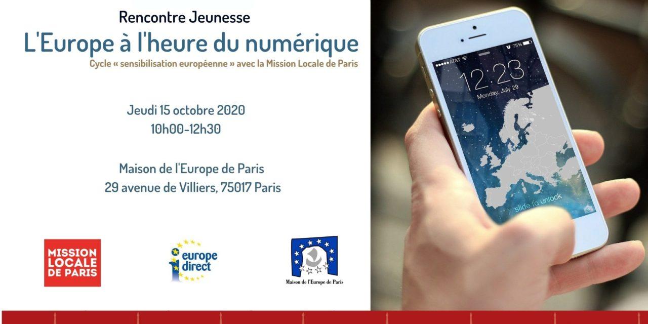 L'Europe à l'heure du numérique !