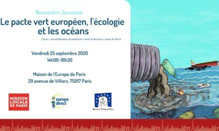 Le pacte vert européen, l'écologie et les océans