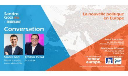 Conversation sur l'Europe avec Sandro Gozi