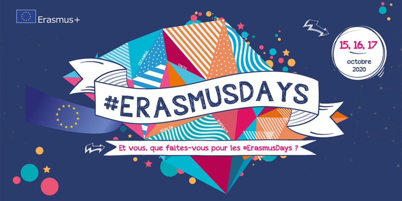 #ErasmusDays 2020: le succès d'Erasmus+ célébré en Europe et dans le monde entier