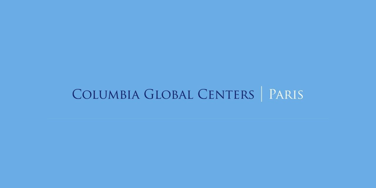 Columbia Global Centers – Cycle de conférences sur l'Europe