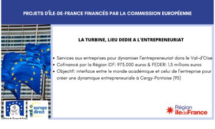 Projet IDF: La Turbine, lieu dédié à l'entrepreneuriat
