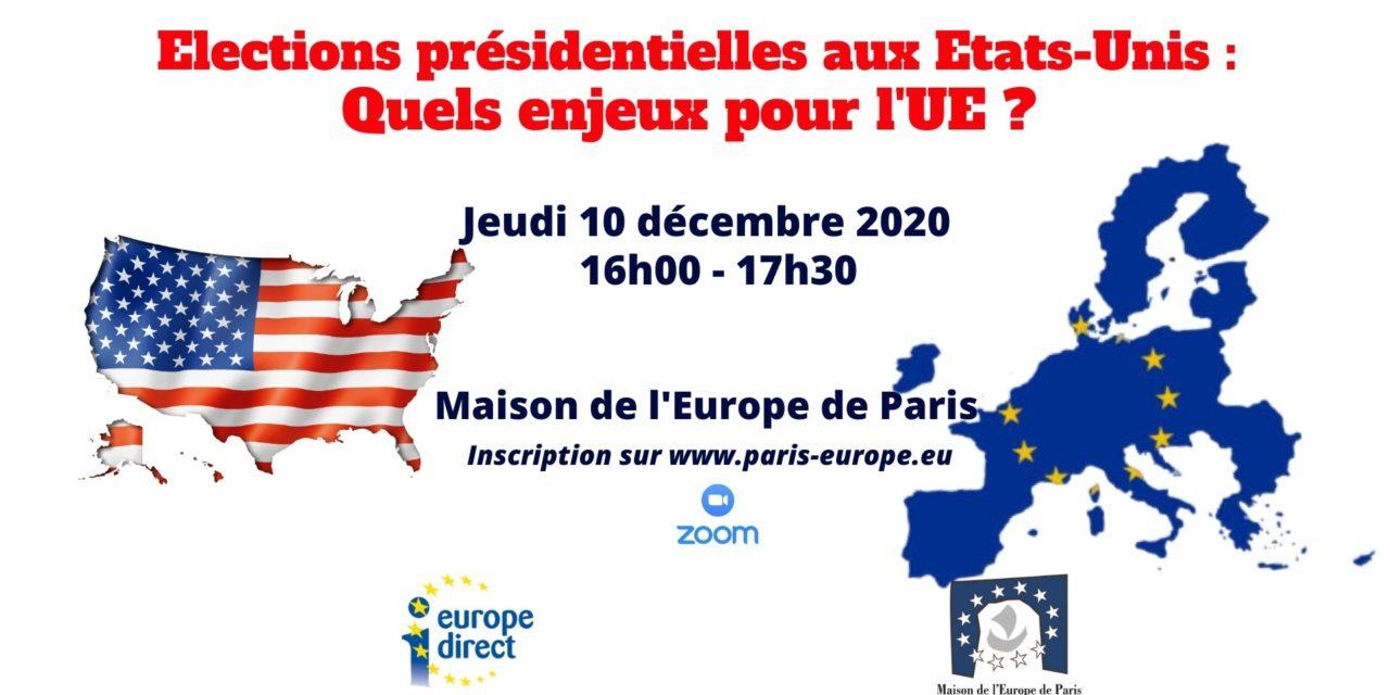 Elections présidentielles aux Etats-Unis : quels enjeux pour l'UE ?