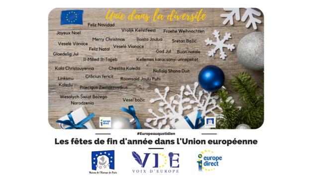 Les fêtes de fin d'année dans l'Union européenne