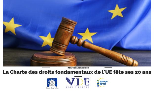 La Charte des droits fondamentaux de l'UE fête ses 20 ans