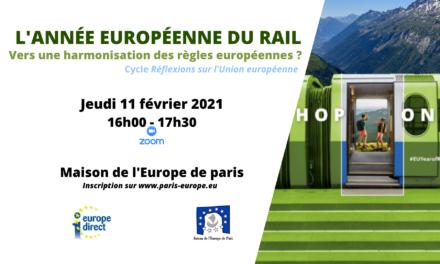L'année européenne du rail : vers une harmonisation des règles en Europe ?