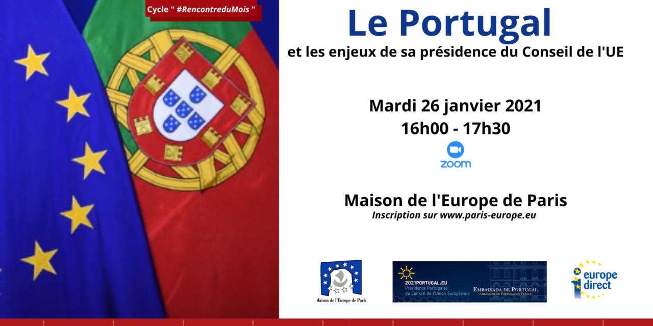 Le Portugal et les enjeux de sa présidence du Conseil de l'Union européenne