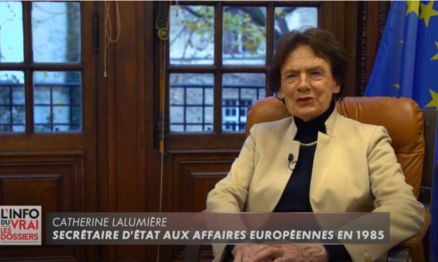 Dossiers de l'Info du vrai – Schengen : son évolution et son histoire avec Catherine Lalumière