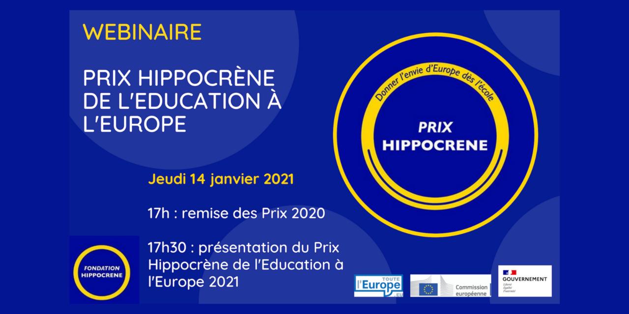 Prix Hippocrène de l'Education à l'Europe