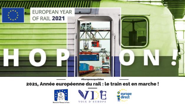 2021, Année européenne du rail : le train est en marche !