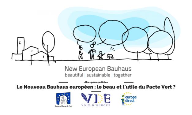 Le Nouveau Bauhaus européen : le beau et l'utile du Pacte Vert ?