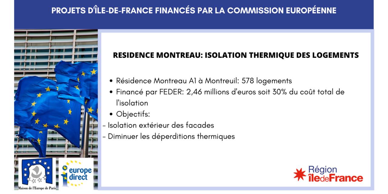 Projet IDF – Résidence Montreau: isolation thermique des logements