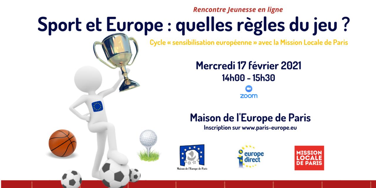Le sport et l'Europe : quelles règles du jeu ?