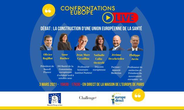 La construction d'une Union européenne de la santé