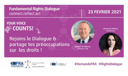 Donne ton avis sur les droits fondamentaux en Europe !