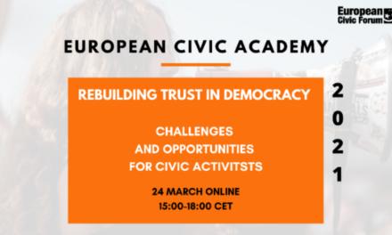 Académie civique européenne 2021