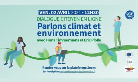 Dialogue citoyen avec Frans Timmermans et Eric Piolle – Europe Direct Grenoble
