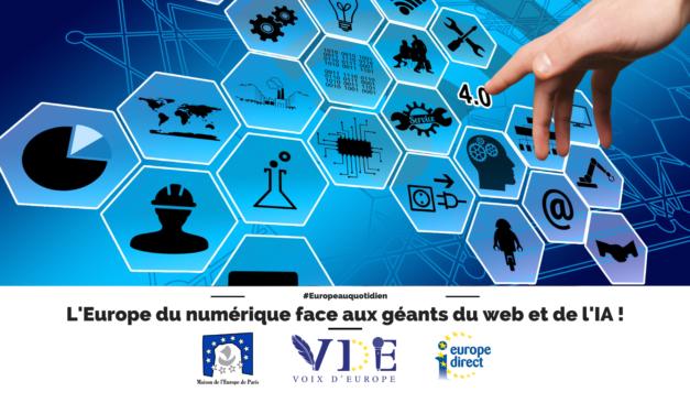 L'Europe du numérique face aux géants du web et de l'IA !