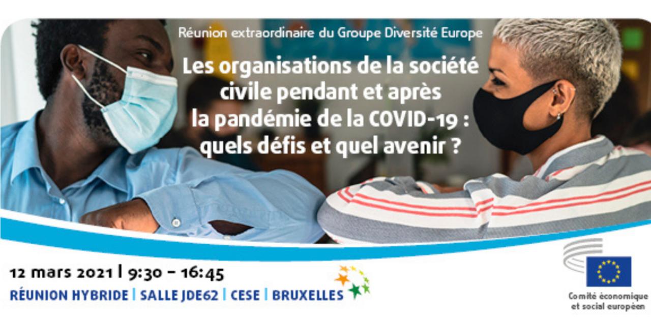 Les organisations de la société civile pendant et après la pandémie de la COVID-19 : quels défis et quel avenir ?