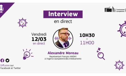 Entretien avec le représentant français à l'Agence européenne des médicaments