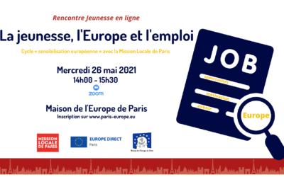 La jeunesse, l'Europe et l'emploi