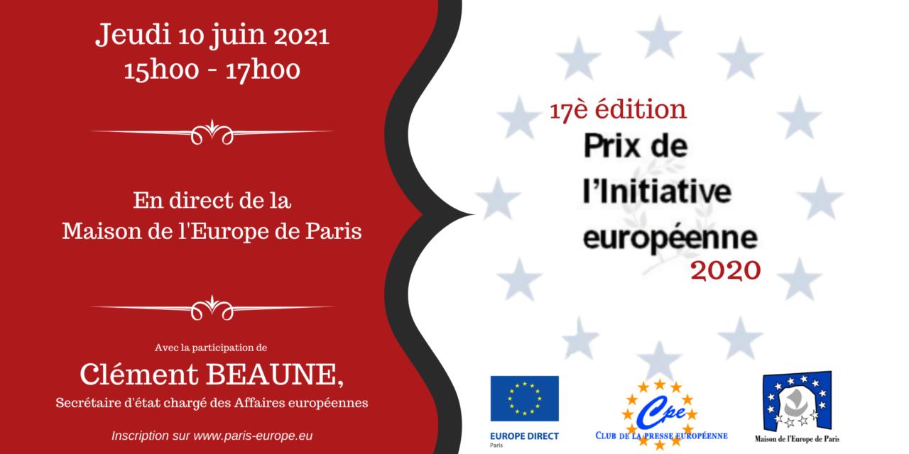 Prix de l'initiative européenne : 17ème édition
