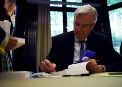 Conférence Michel Barnier 2