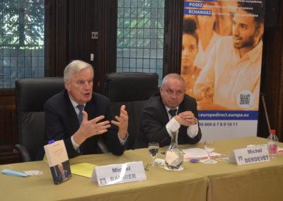 Conférence Michel Barnier