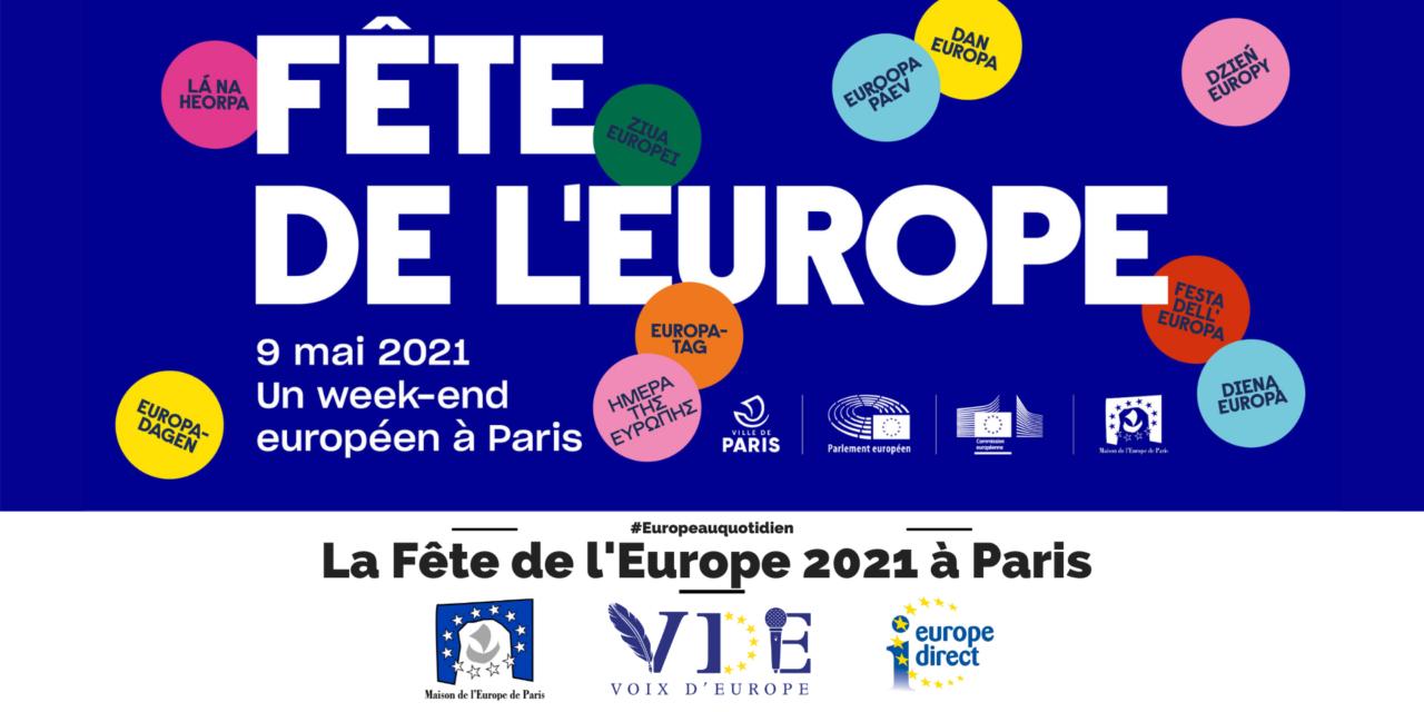 La Fête de l'Europe 2021 à Paris