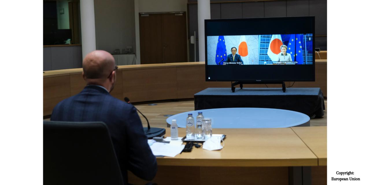 """L'UE et le Japon créent une """"Alliance Verte"""" lors du 27e Sommet UE-Japon"""