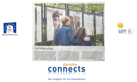 Article sur l'exposition Happy EU par notre partenaire Ulm !