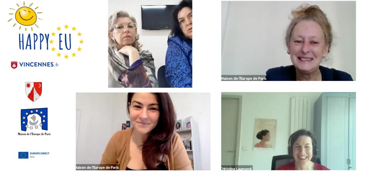 Rencontre avec nos partenaires de Bacău& Vincennes (mai 2021)