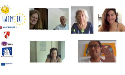 Réunion avec nos partenaires de Bacau, Cuba & Vincennes (juillet 2021)