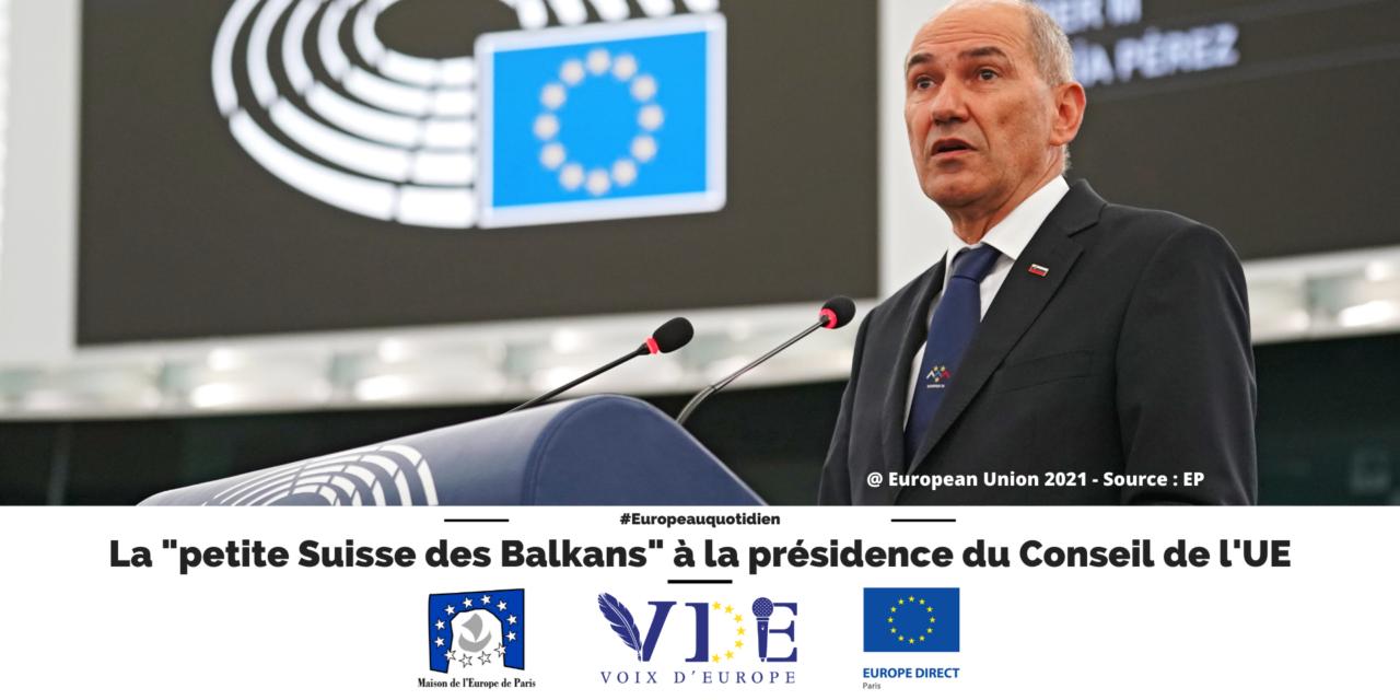 """La """"petite Suisse des Balkans"""" à la présidence du Conseil de l'UE"""
