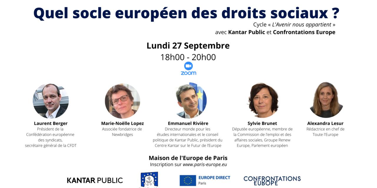 Quel socle européen des droits sociaux ?