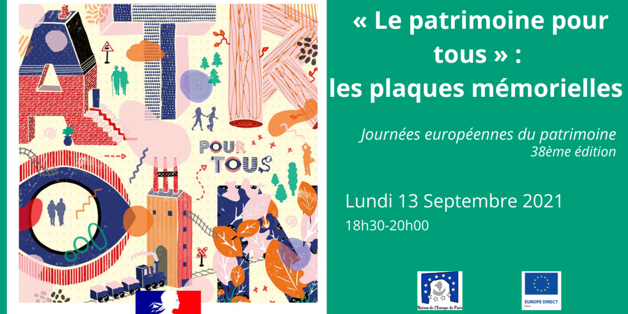 Journées européennes du patrimoine – 38ème édition