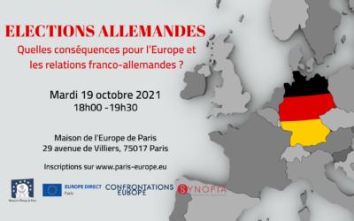 Elections allemandes : quelles conséquences pour l'Europe et les relations franco-allemandes ?